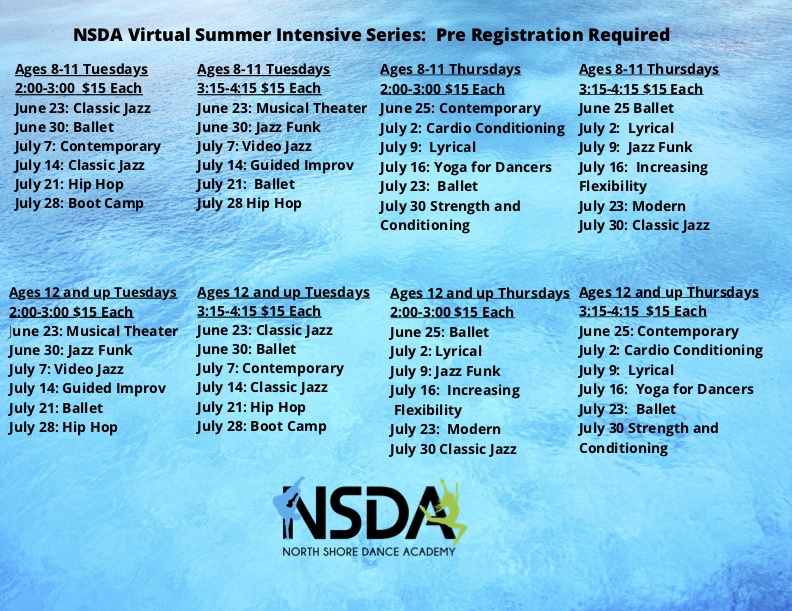 NSDA Virtual Summer Intensive Series
