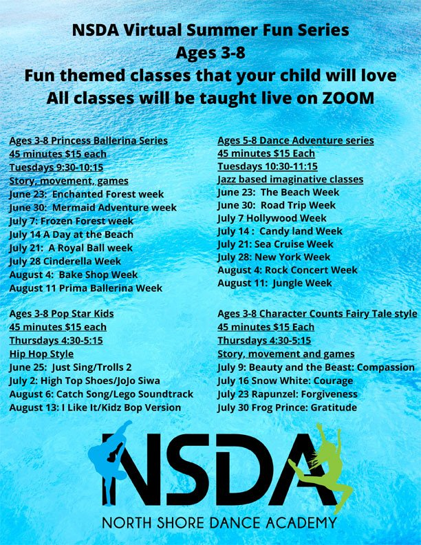 NSDA Virtual Summer Fun Series