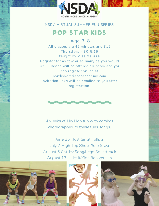 REAL Pop star kids summer series